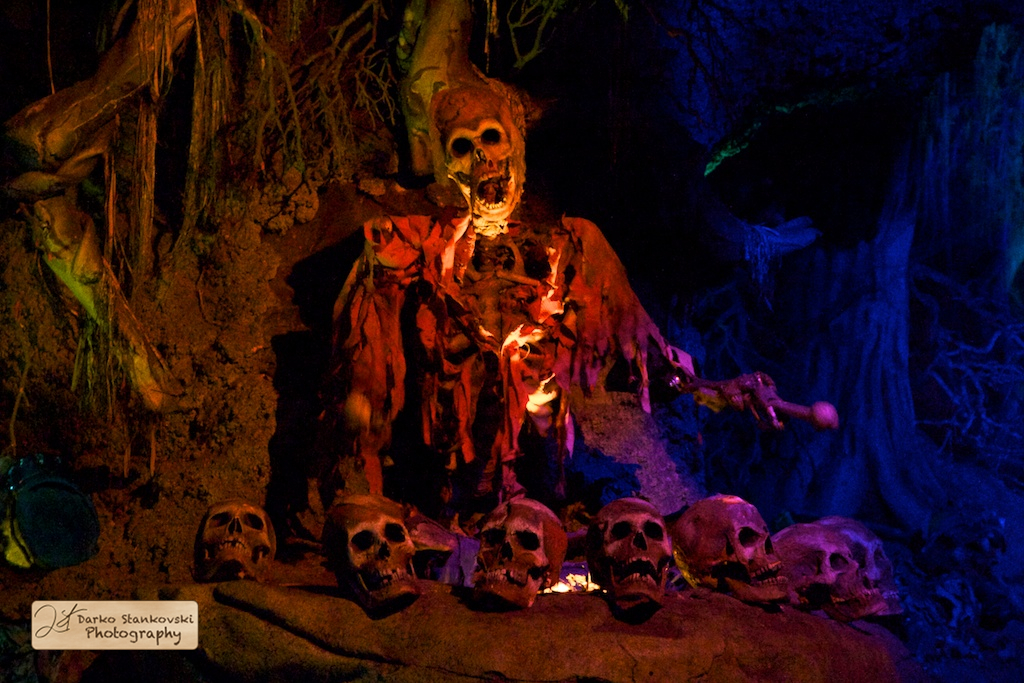 Phantom Manor caves